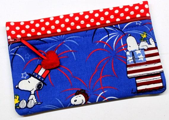 Side Kick Snoopy Patriotic