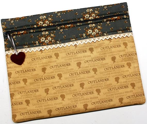 Outlander Cross Stitch Project Bag