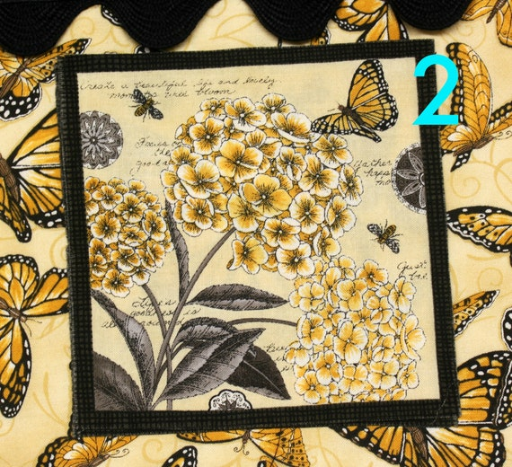 Butterfly Choose your Patch Cross Stitch Project Bag