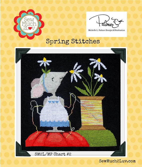 Spring Stitches Cross Stitch Chart
