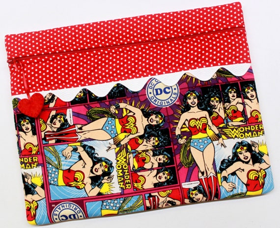 Wonder Woman Cross Stitch Project Bag