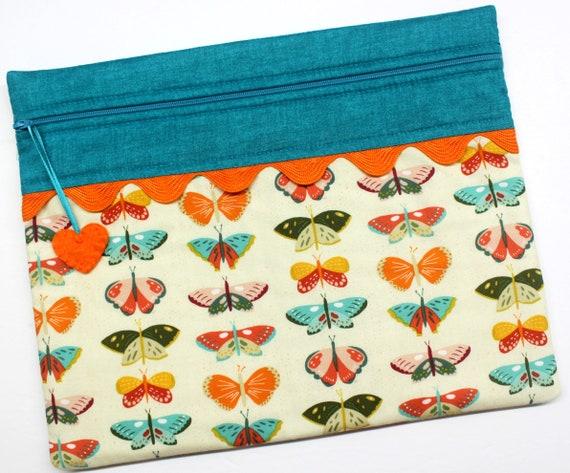 Beautiful Butterflies Cross Stitch Project Bag