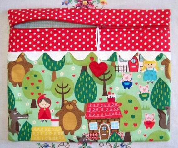 Fairytale Fun  Cross Stitch Project Bag