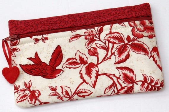Side Kick Red Toile