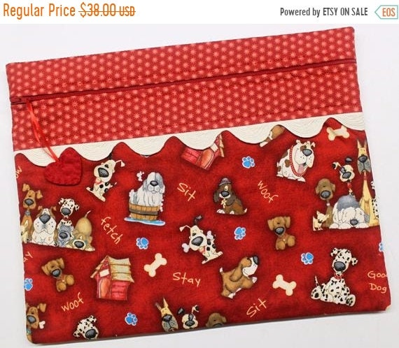 SALE Good Dog Cross Stitch Project Bag