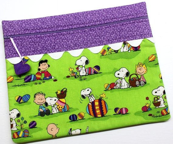 Peanuts Easter Cross Stitch Project Bag