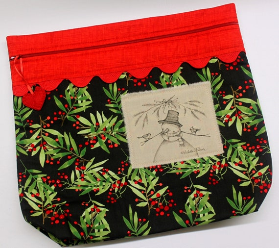 MORE2LUV Limited Edition Snowman #3 Project Bag