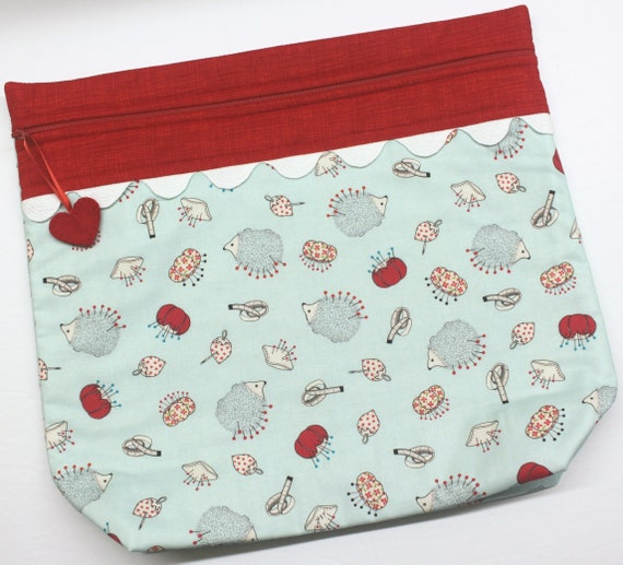 MORE2LUV Hedgehog Pincushion Project Bag