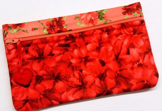 Side Kick Red Geraniums Bag