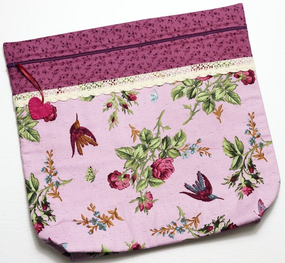 MORE2LUV Anne's Garden Cross Stitch Project Bag