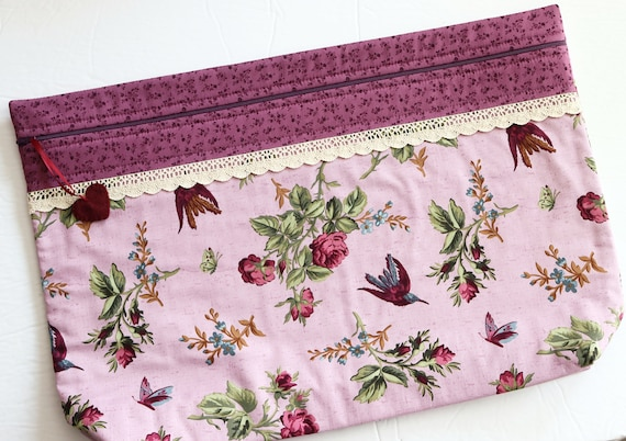 LOTS2LUV Anne's Garden Cross Stitch Project Bag