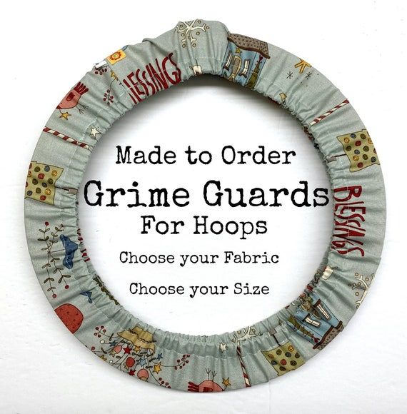 Custom - Choose Your Fabric Grime Guard Hoop Cover