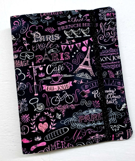 Paris Chalk Art WIP Tracker Cover and Binder