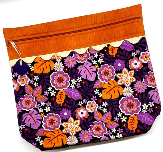 MORE2LUV Purple Paradise Project Bag