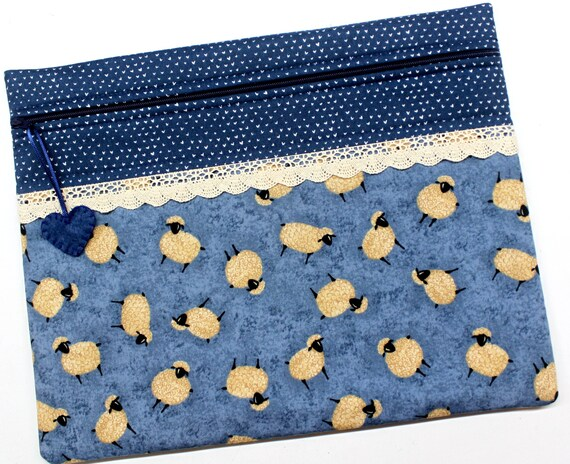 Sweet Sheep Cross Stitch Project Bag