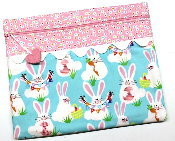 Funny Bunny Cross Stitch Project Bag