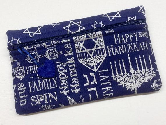 Side Kick Blue Silver Hanukkah