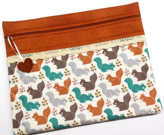 Squirrel Friends Cross Stitch Project Bag