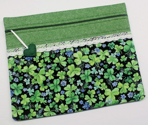 Lucky Clover Cross Stitch Project Bag