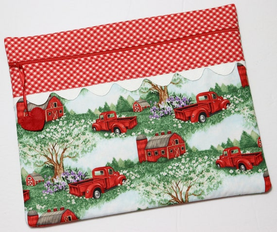 Summer on the Farm Cross Stitch Project Bag
