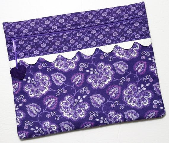 Floral Fantasy Cross Stitch Project Bag