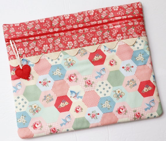 Sweet Hexies Cross Stitch Project Bag