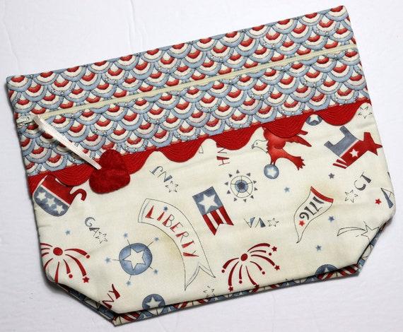 Lil' Big Bottom America Cross Stitch Bag