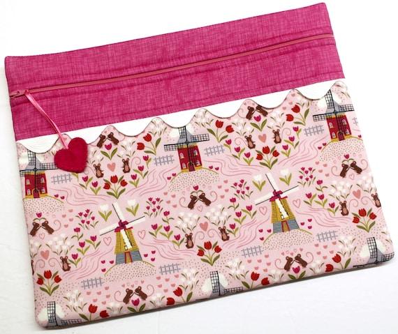 Mice & Windmills Cross Stitch Project Bag