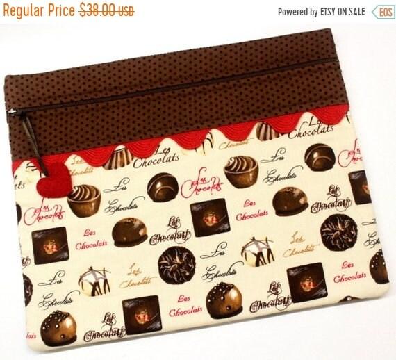 SALE Les Chocolates Cross Stitch Project Bag