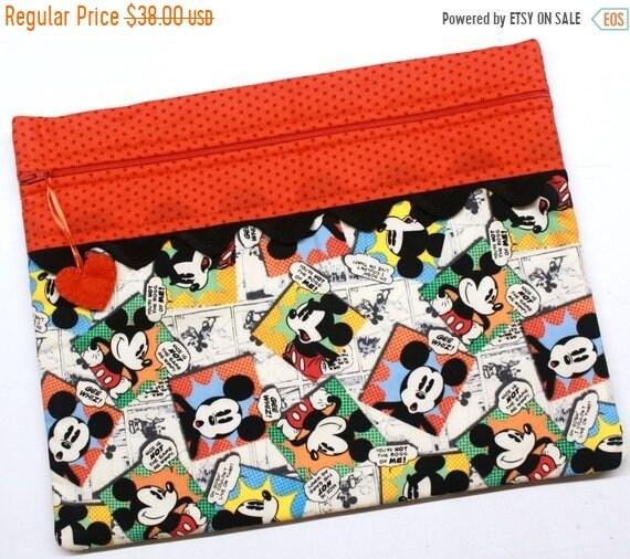 SALE Gee Whiz Mickey Cross Stitch Project Bag