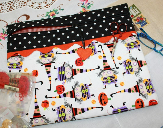 Stitchy Witchy Cross Stitch Project Bag
