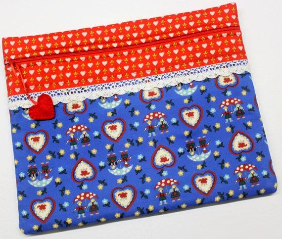 Bavarian Love Cross Stitch Project Bag