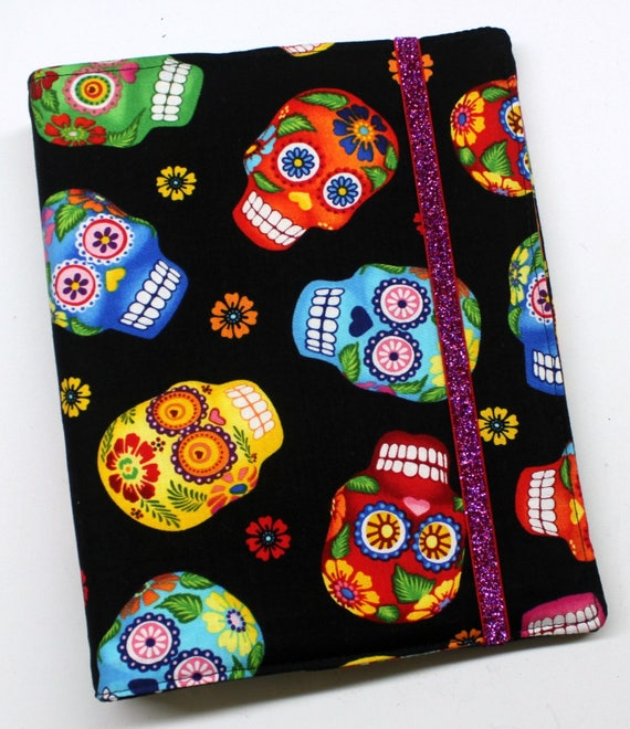 Bright Sugar Skulls WIP Tracker Cover and Binder