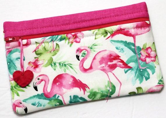 Side Kick Watercolor Flamingos