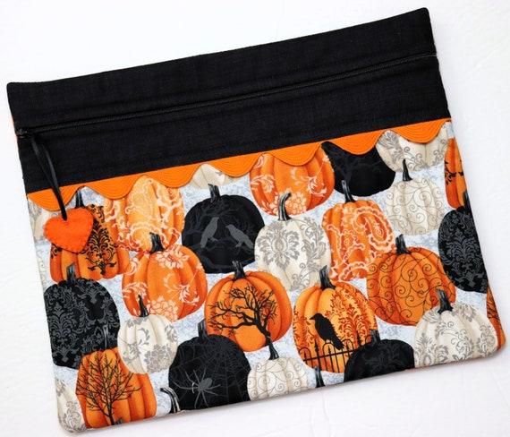 Painted Pumpkins Stitch Project Bag