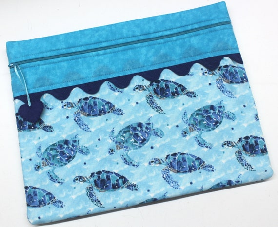 Sea Turtles Cross Stitch Project Bag