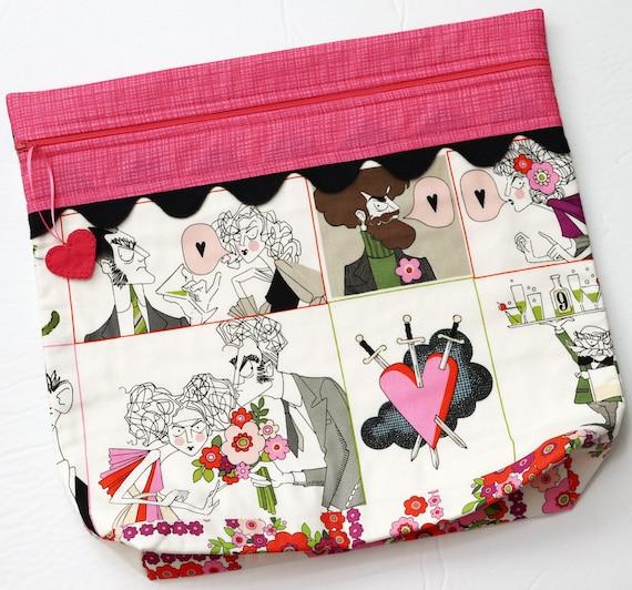 MORE2LUV Ghastlies Love Project Bag