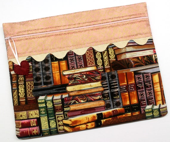 I Like Big Books Cross Stitch Project Bag
