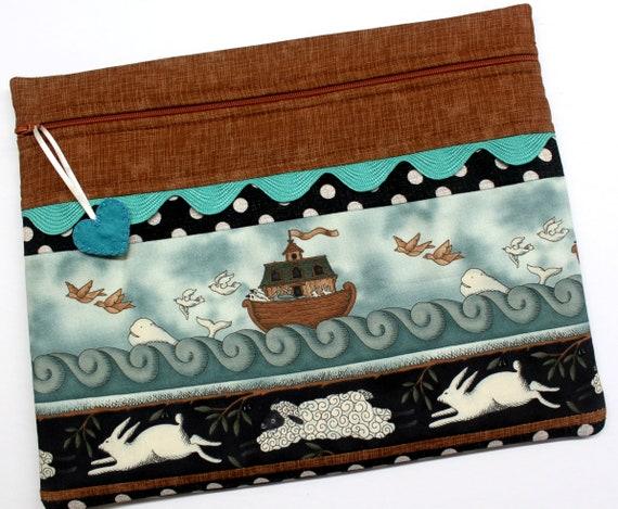 Noah's Ark Patchwork Cross Stitch Project Bag