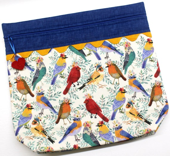 MORE2LUV Pretty Bird Project Bag