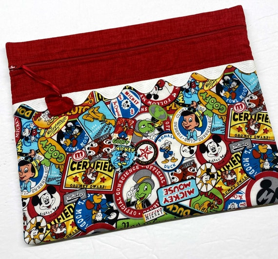 Mickey Posters Cross Stitch Project Bag