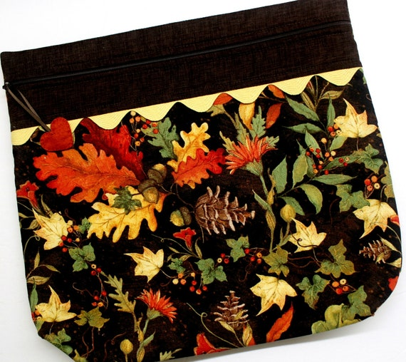 MORE2LUV  Autumn's Blessings Cross Stitch Project Bag