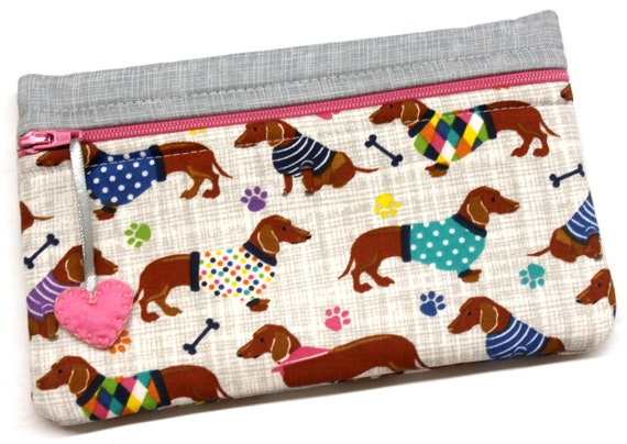 Side Kick Dachshund Choose Your Color Bag
