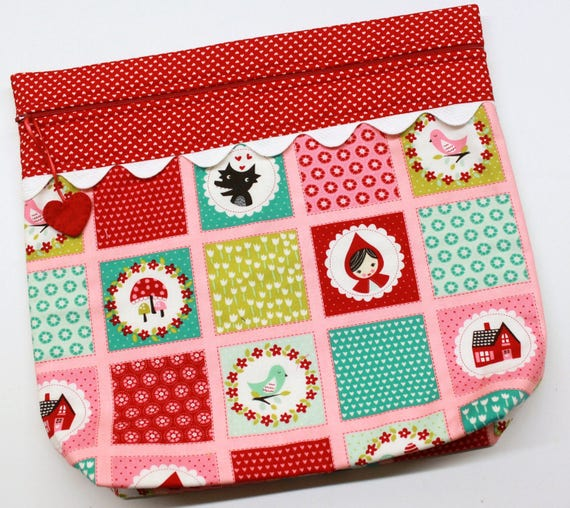 MORE2LUV Little Red Riding Hood Project Bag