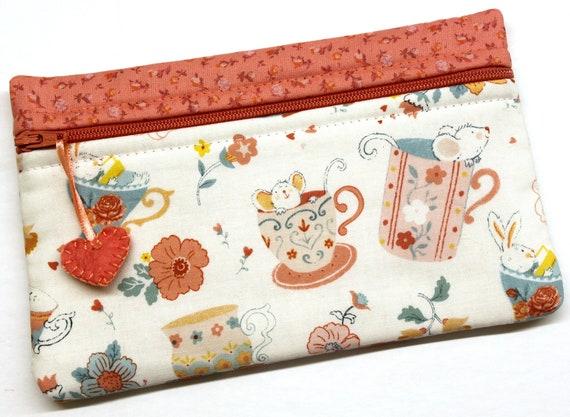 Side Kick Bunny & Mouse Tea Cup