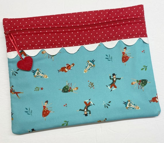 12 Days of Christmas Cross Stitch Project Bag