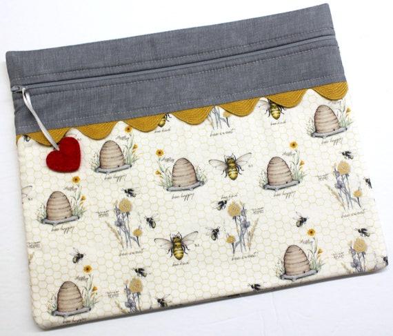 Be Kind Cross Stitch Project Bag
