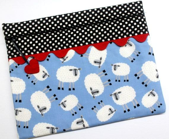 Sheep Herd Cross Stitch Project Bag