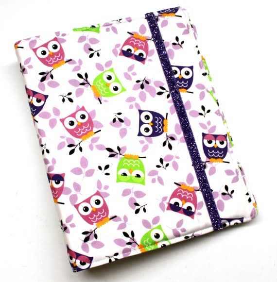 Purple Owls  WIP Tracker Cover and Binder