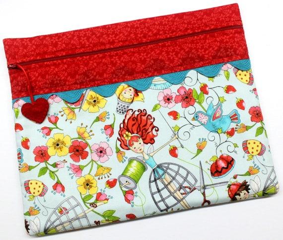 Floss Fairies Cross Stitch Project Bag